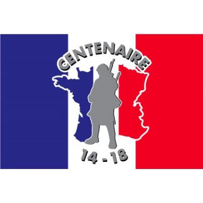 pavillon drapeau centenaire de la guerre 14-18