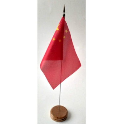 MINI DRAPEAU DE TABLE 10X14CM CHINE