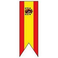 ORIFLAMME Espagne avec armoirie
