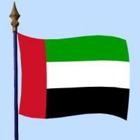 DRAPEAU Émirats arabes unis