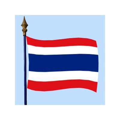 DRAPEAU Thaîlande