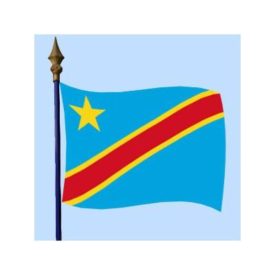 DRAPEAU Congo Démocratique