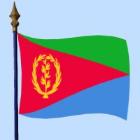 DRAPEAU Érythrée