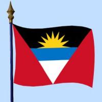 DRAPEAU Antigua-et-Barbuda