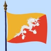 DRAPEAU Bhoutan