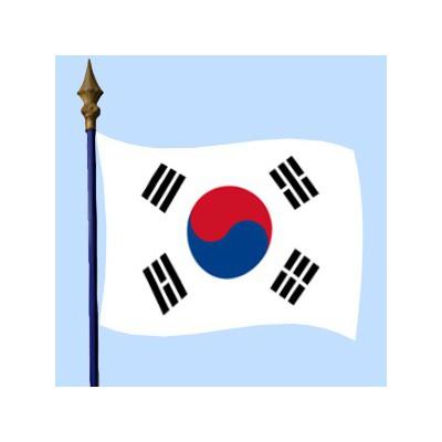 DRAPEAU Corée du Sud
